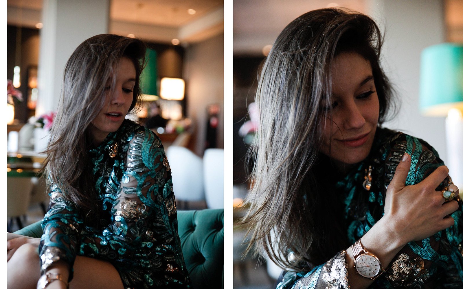 012_Green_sequins_dress_outfit_the_guest_girl_theguestgirl_laura_santolaria_fashion_blogger_danity_paris_influencer_barcelona