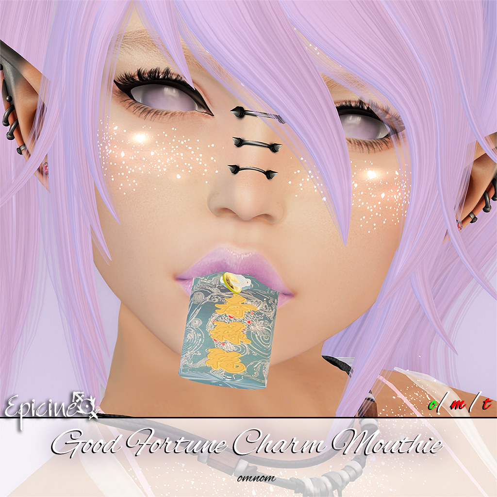 Epicine - Good Fortune Charm Mouthie - SecondLifeHub.com