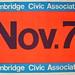 Cambridge Civic Association Campaign Posters, 1967