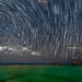 Star Trails over Mokulua Islands in Lanikai, Hawaii by The Smoking Camera