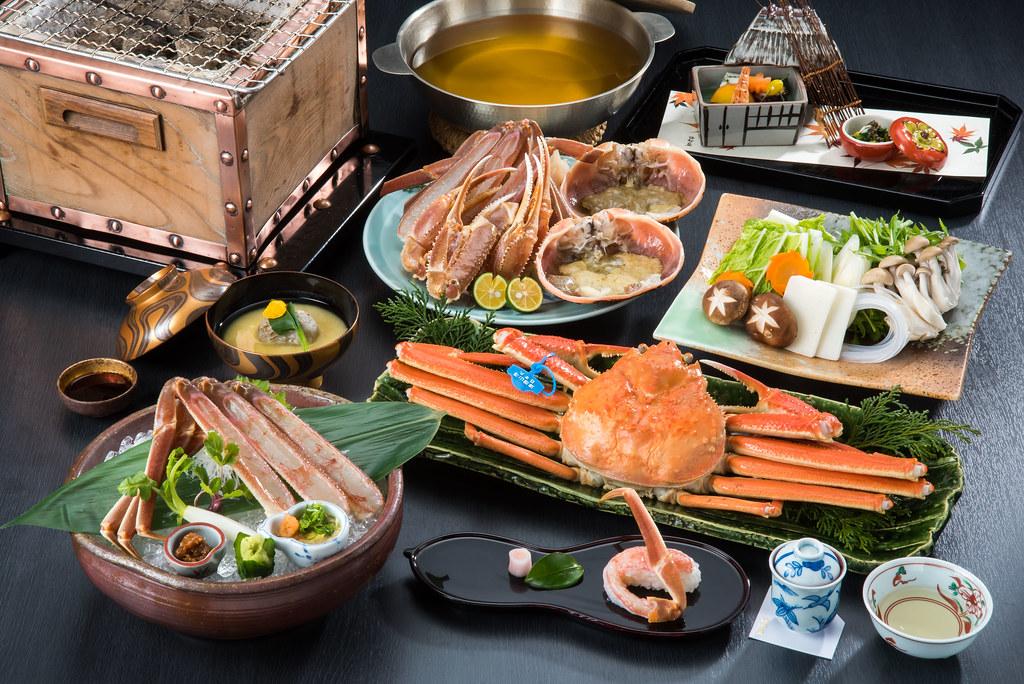 Fresh Matsuba Crab Full Course