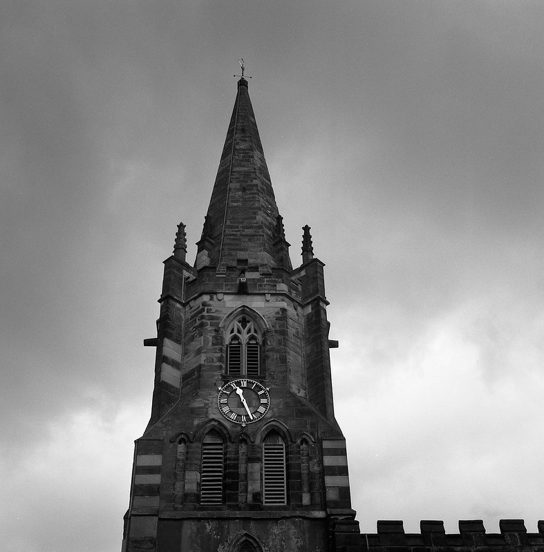 FILM - St. Mary's steeple