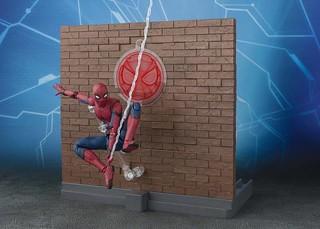 S.H.Figuarts 《蜘蛛人: 返校日》蜘蛛人 「魂Option Act Wall Set」北美限定場景組