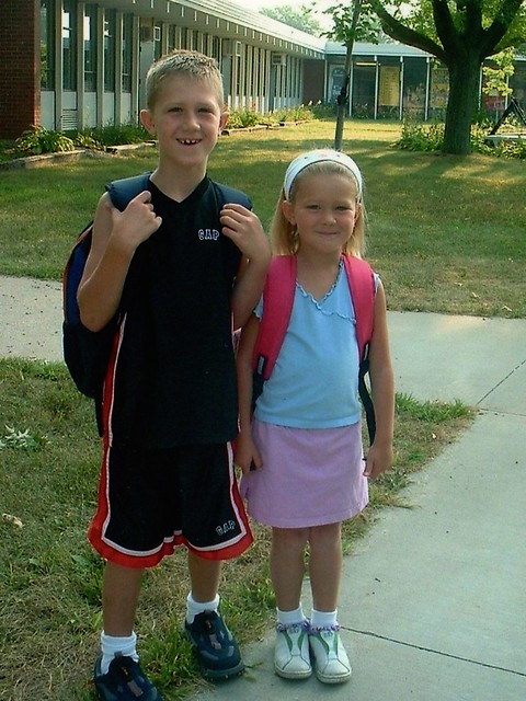 Elementary Kylie and Adam