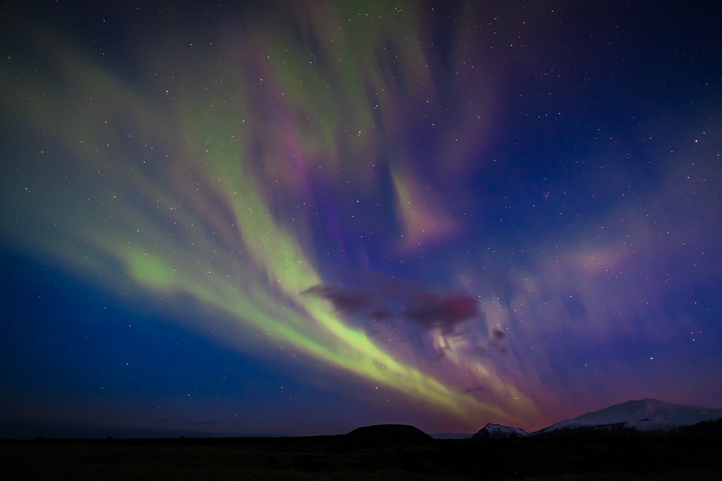 The Northern Lights, Iceland picture