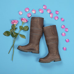 Haxby Boot Roses