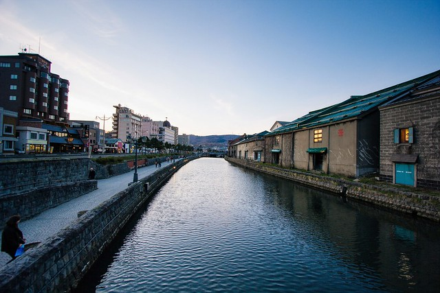 Otaru Canal, Canon EOS 550D, Canon EF-S 10-22mm f/3.5-4.5 USM