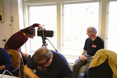 MacSimski, operating his 4x5 camera
