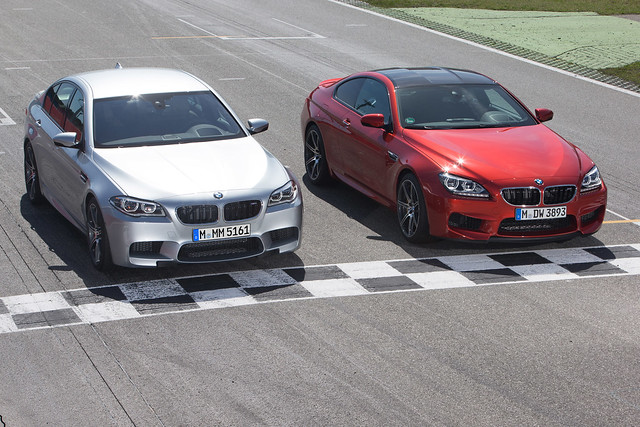 2014 BMW M5 & BMW M6 with Competition Package