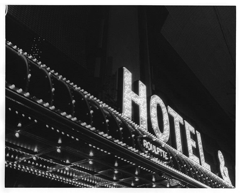 hotel in lights