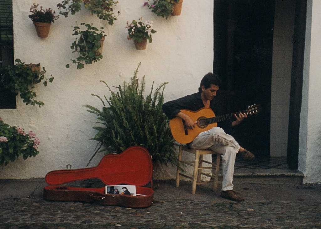 Spain-Sevilla-Guitar