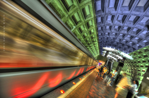 FOGGY BOTTOM SUBWAY