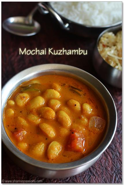 Mochai Kuzhambu Recipe