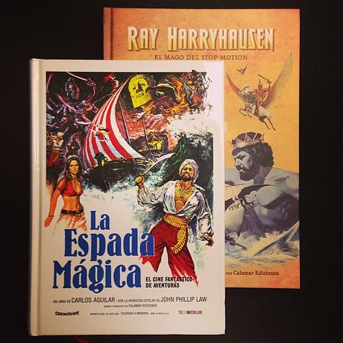 """""""La Espada Mágica: el cine fantástico de aventuras"""" y """"Ray Harryhausen: el mago del stop-motion"""""""