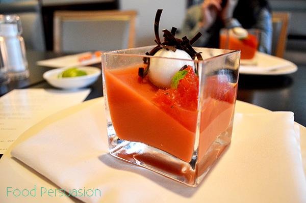 watermelon panacotta