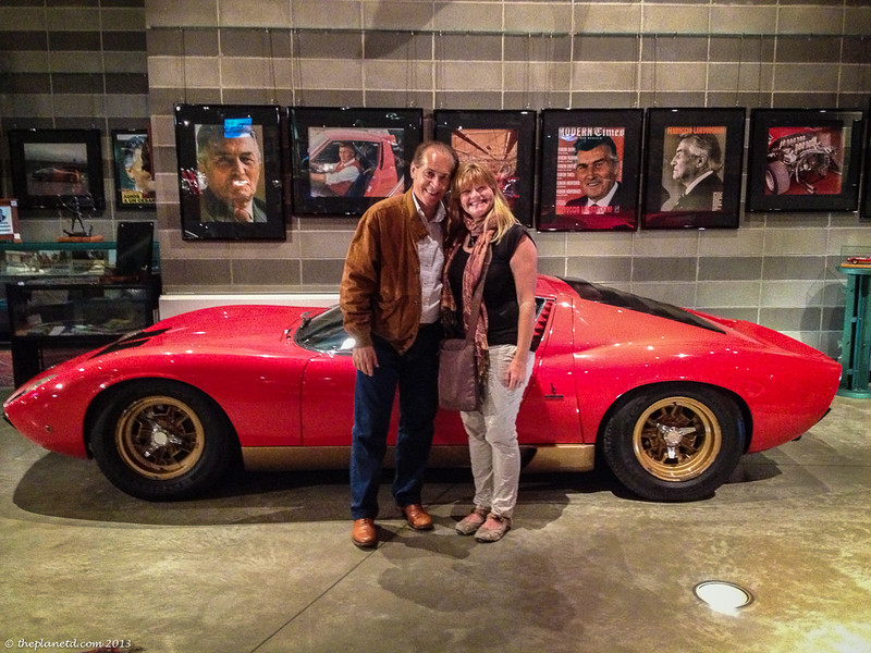 Fabio Lamborghini and Deb