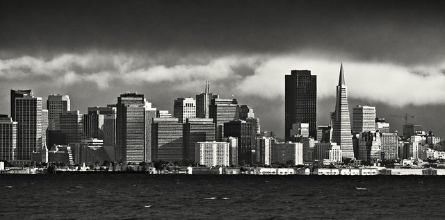 SF City Skyline from Afar
