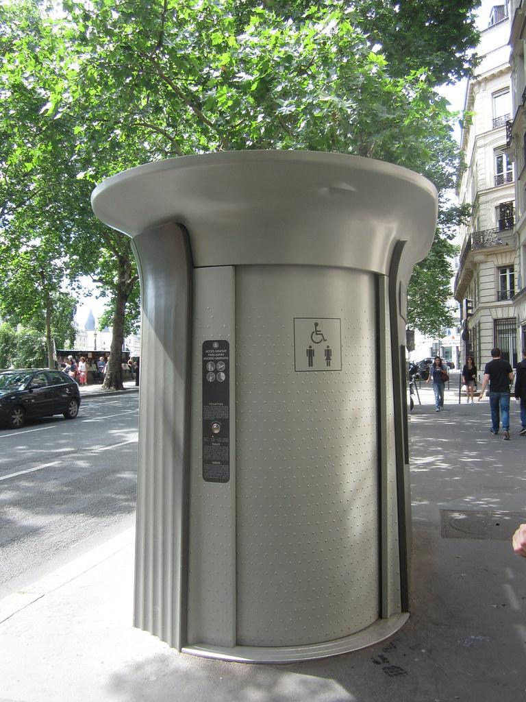 Paris Public Infrastructure - Public Toilet