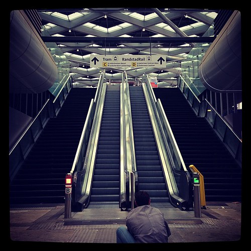 The new #denhaag centraal station. Ready in 2014! #photo of #photographers!! #architecture