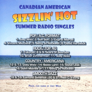 Canadian American Sizzin' Hot Summer Radio Singles