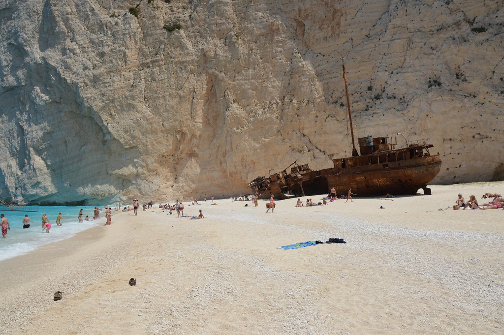 Shipwreck in Zakynthos, Greece