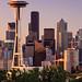 Soft Morning Light - Seattle, WA by Michael Riffle