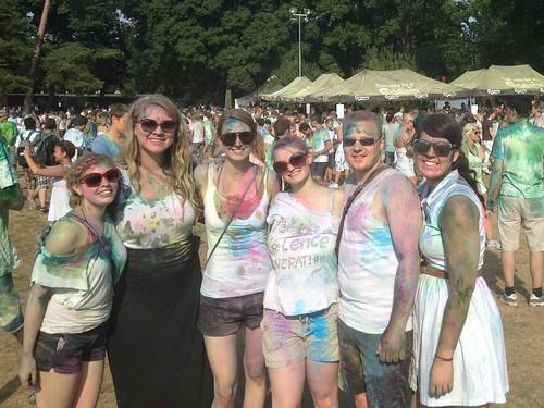 holi festival of colors.