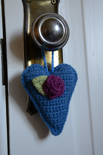 Crochet heart by Emily