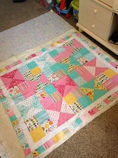 Alter Ego Quilt Scrappy Border Top 1