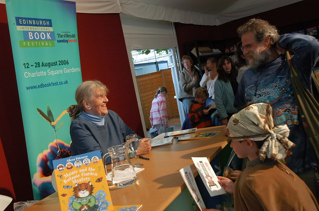 Aileen Paterson book signing