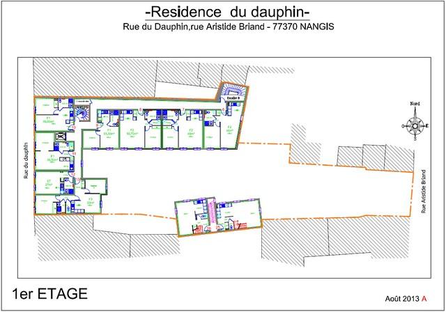 Résidence du Dauphin - Plan de vente - 1er étage