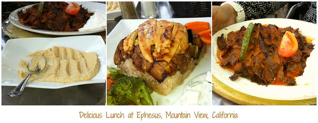 Ephesus Lunch Collage