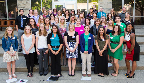 School of Nursing Induction Ceremony Fall 2013