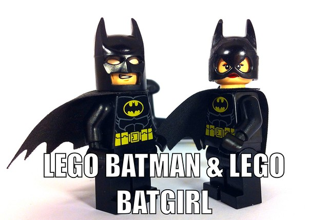 LEGO BATMAN AND LEGO BATGIRL | Flickr - Photo Sharing!