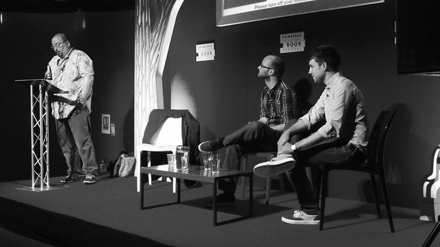 Edward Ross & Will Morris at Edinburgh Book Fest 2013 01