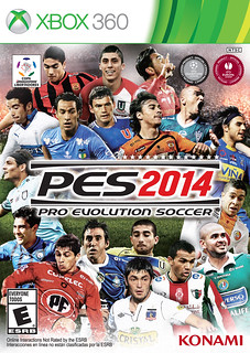 PES 2014 Latin American cover