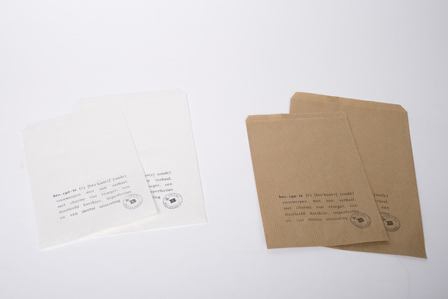Verpakkingen van Brocantepost
