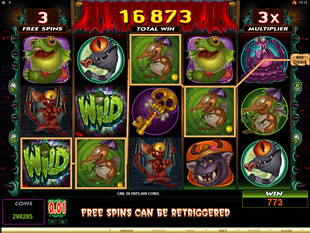Monsters in the Closet Slot Free Spins