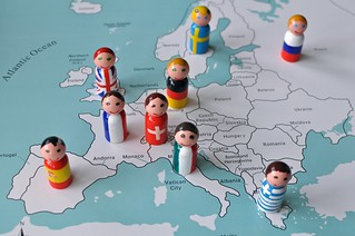 Flag Peg People Map Montessori