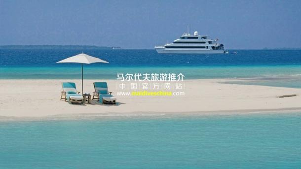 马尔代夫游船巡回观光
