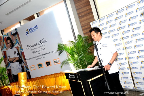 The Honorary Chef Edward Kwon of Berjaya University College of Hospitality 9
