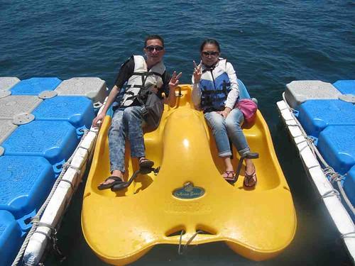 11-2013澎湖-海洋牧場-水上腳踏艇