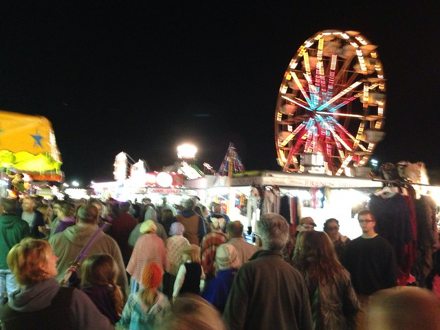 Tunbridge Fair - night