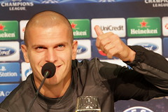 Schalke04-Steaua, antrenament oficial