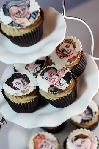Downton Abbey Cup Cakes