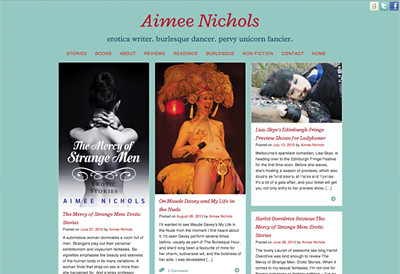 latest site, www.aimee-nichols.com
