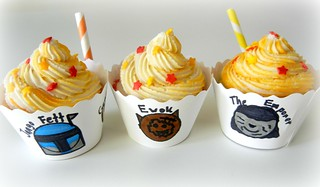 cute star wars cupcakes