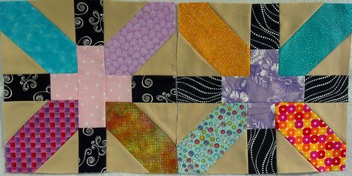 "September Ima Bee X+ 12.5"" blocks for Juneauwendy1"