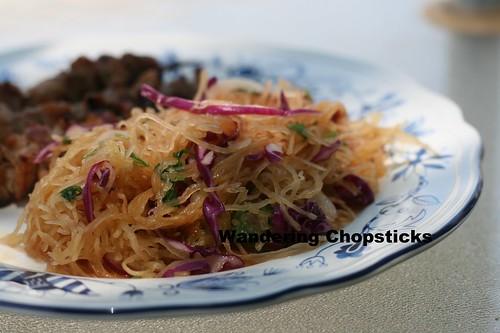 Goi Bi Soi Chay (Vietnamese Vegetarian Spaghetti Squash Salad) 2