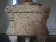 Toftrees font (12th Century)